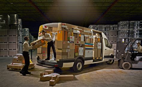 Merecedes Benz Parcel Delivery   Terry Collier Creative