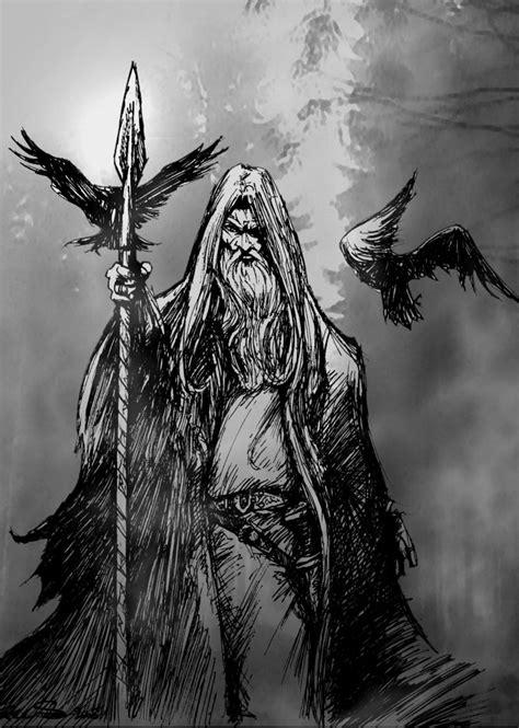 Odin Black myndir on tribal designs vikings and darth vader