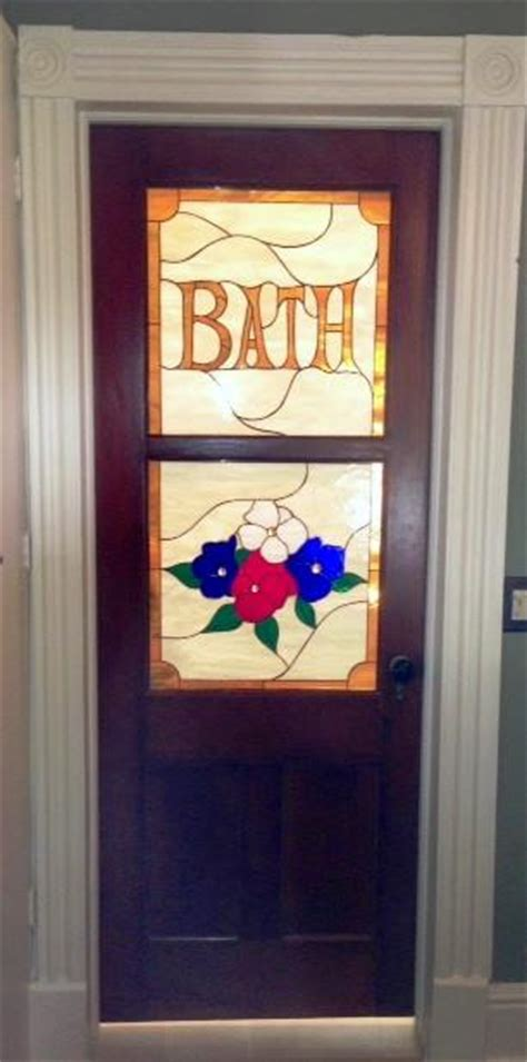 stained glass bathroom door stained glass bathroom door stainedglasswindows com