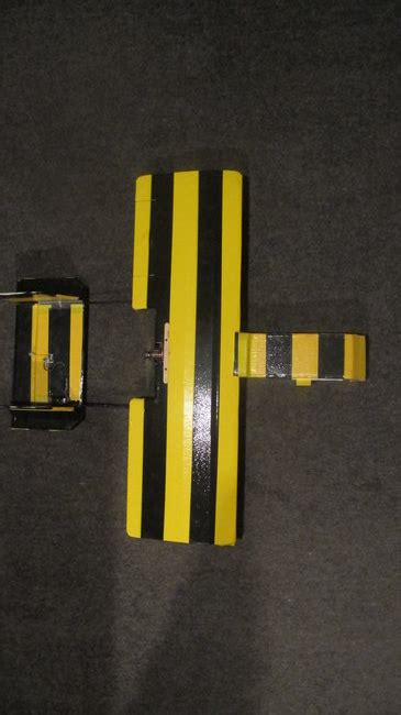 boom on bumble revised bumble plane 332 gram twin boom 680 mm flite test