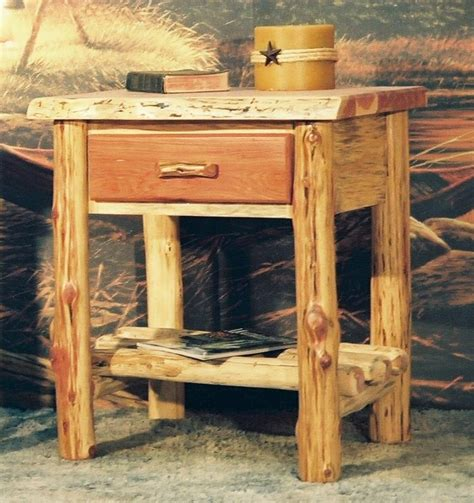cedar post bed diamond point red cedar post and twig bed the log furniture store
