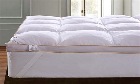 dickens gold edge 5cm goose feather and mattress topper from 163 24 98