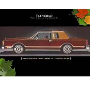 1980 Lincoln Continental Town Coupe  Cars Pinterest
