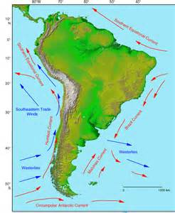 current map of south america figure f3 the flow paths of major currents