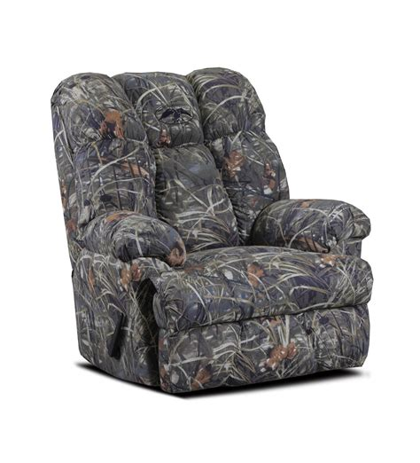 Duck Commander Recliner by Chelsea Home Furniture Duck Commander Recliner Real Tree Max 4 Twill