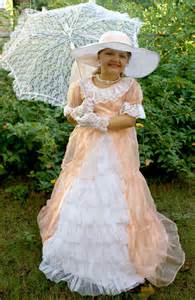 peachy southern belle costume chasing fireflies