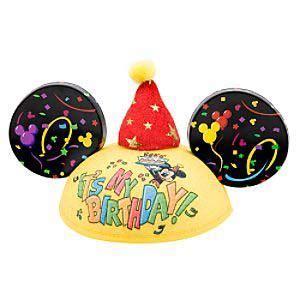 Your WDW Store   Disney Hat   Ears Hat   Happy Birthday