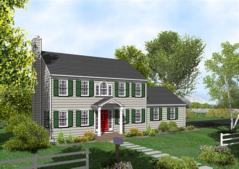 Colonial House Colonial House Plan The Posey 317 Home Plans For Sale