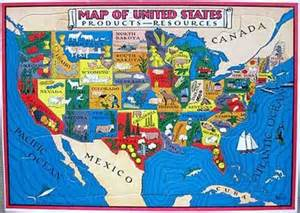 map of resources in the united states wyhs human geography anglo american