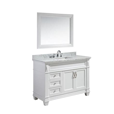 home depot design element vanity design element hudson 48 in w x 22 in d x 34 in h