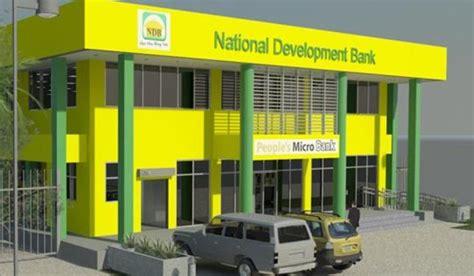 ndb bank national development bank kavieng portfolio tulait