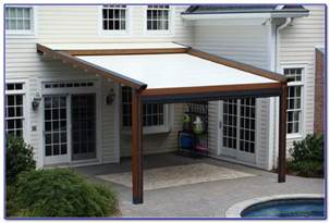 Permanent Awnings For Decks Aluminum Awnings For Decks Decks Home Decorating Ideas