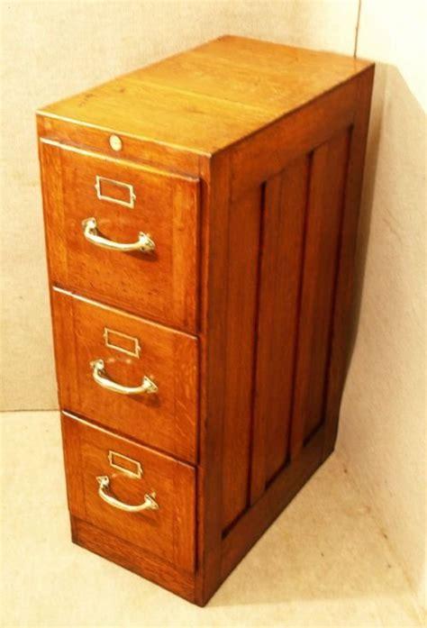Oak 3 Drawer Filing Cabinet by Antique Oak 3 Drawer Filing Cabinet 101718