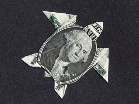 Two Dollar Bill Origami - money origami sea turtle dollar bill made with 1