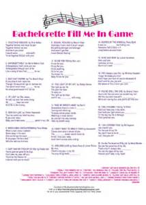 Click here for printable bachelorette party fill me in game