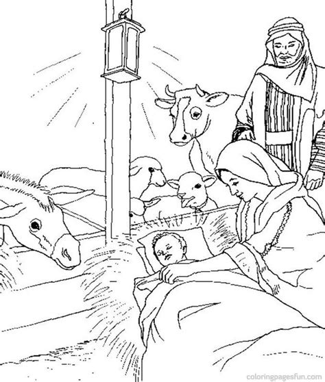 coloring pictures of christmas story bible stories coloring pages coloring home