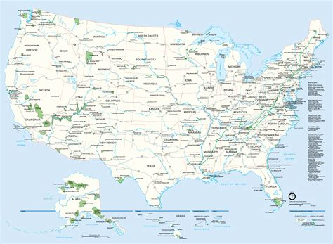 united states map with highways and cities states of united states highway map mapsof net