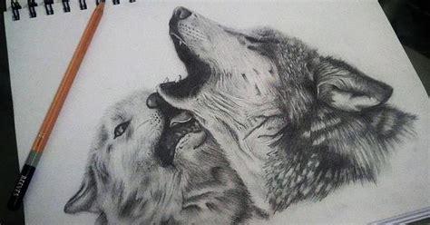 imagenes a lapiz de lobos dibujo de un lobo a lapiz imagui lobos pinterest