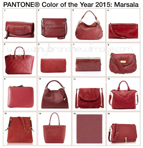 color of the year 2015 bags in marsala pantone 174 color of the year 2015 my