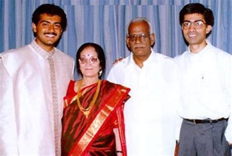 actress shalini father name ajith kumar family photos father mother wife son