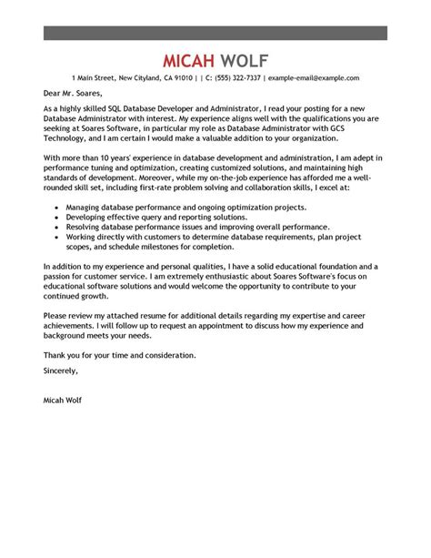 best computers technology cover letter sles livecareer