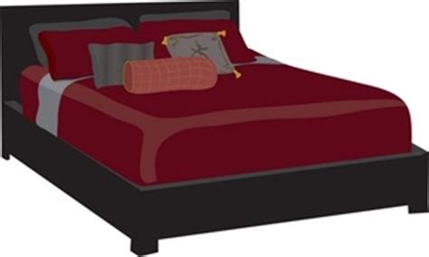 bedroom furniture clipart bed clipart image bed in the bedroom