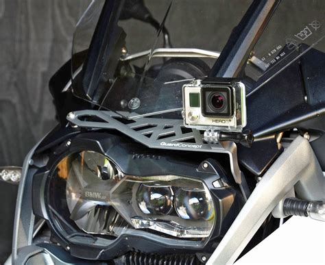 New GoPro mounts for BMW GS range