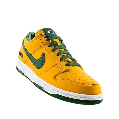 green bay packer sneakers nikeid custom nike dunk low nfl green bay id shoe