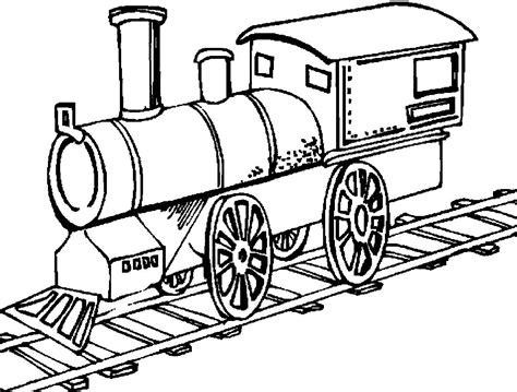 coloring pages of train tracks trains are running on the track trains coloring pages