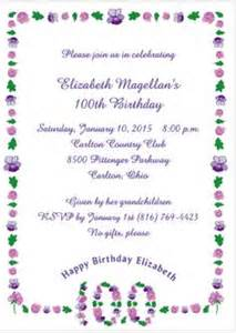 1000 images about 100th birthday party on pinterest birthday invitations birthday parties