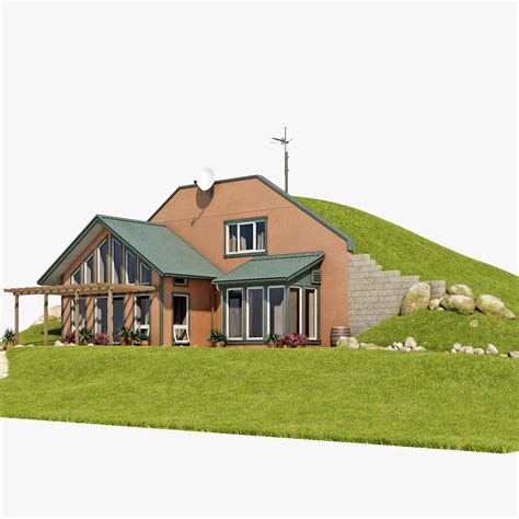 burm home earth berm cozy homes home plans studio design