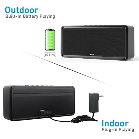 Wireless Outdoor Patio Speakers Doss Soundbox Xl 32w Bluetooth Speakers Dual Driver