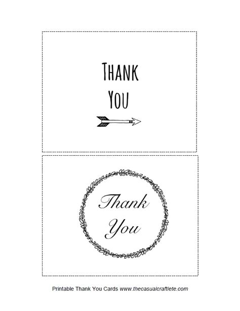 printable thank you cards with photo homework a creative blog be my guest printable thank