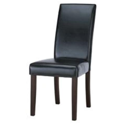 chaise 224 d 238 ner en cuir canvas noir canadian tire