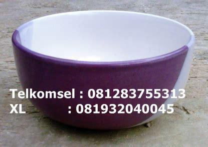 Dinner Set Keramik Piringmakan Dan Mangkuk mangkok keramik tipe mangkok musli 2 warna produksi