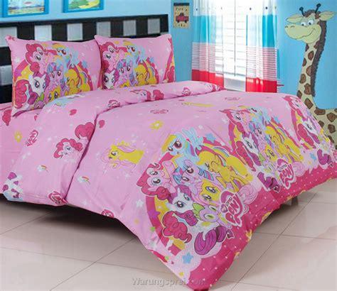 Sprei Anak Pony sprei panca my pony pink warungsprei