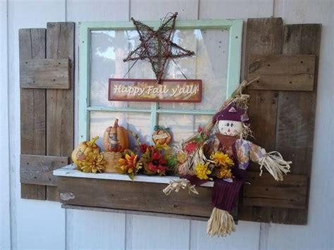fall window decorations window box fall decor home sweet home