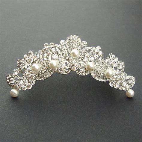 bridal tiara wedding crown bridal headpiece vintage wedding