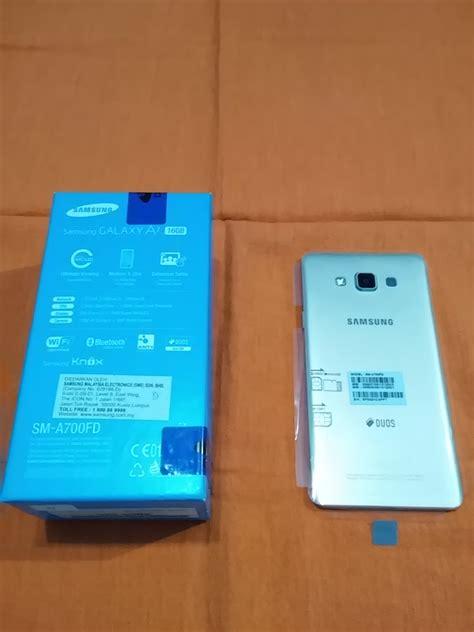 Harga Handphone Samsung A7 jual beli samsung galaxy a7 type sm a700fd baru