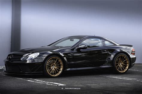 Mercedes Amg Sl65 by Mercedes Sl65 Amg Black Series Gets New Set Of Rims
