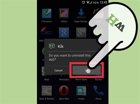 how to apps android how to delete apps on android 5 steps with pictures