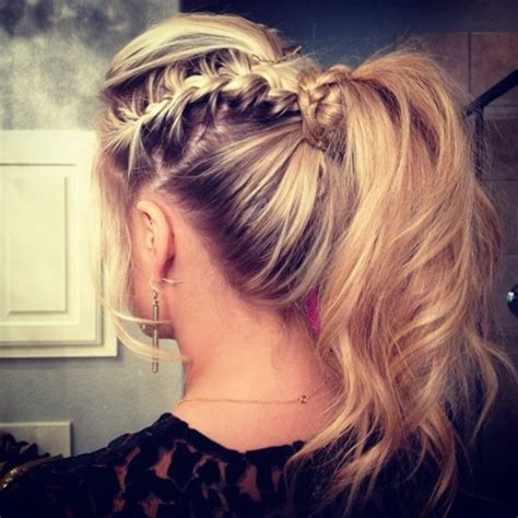vertebral braid hair style braided 7 new ponytail styles to try this season