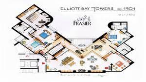 frasier apartment floor plan robert waddilove paraphernalia frasier 39 s apartment