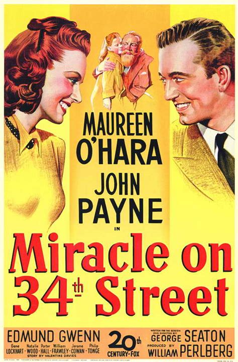 miracle on 34 miracle on 34th posters from poster shop