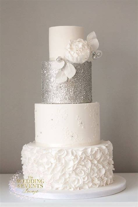 Silver Wedding Cake by 25 Best Silver Wedding Cakes Trending Ideas On