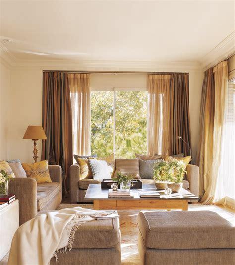 cortinas rusticas para salon 12 buenas ideas para renovar el sal 243 n