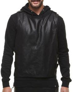 Sweater Hoodie Pullover Bullet Club K21 mens bullet proof style leather motorcycle vest dual gun pockets club vest best mc vest for