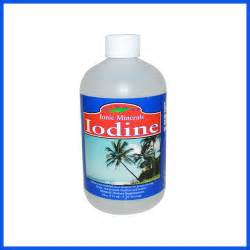 what color is iodine iodine liquid supplement