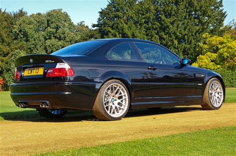 File:Black BMW M3 CSL E46 rr   Wikimedia Commons