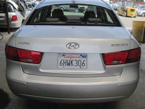 hyundai sonata parts 2009 2009 hyundai sonata parts car stk r11464 autogator